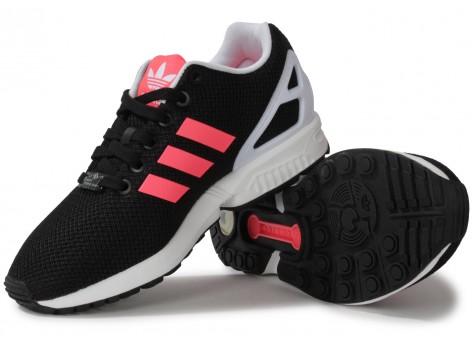 adidas zx flux femme noir et rose