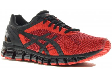 chaussures asics rouge